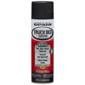 rustoleum bed liner spray rust oleum automotive 15 oz black professional truck bed coating spray 6 pack
