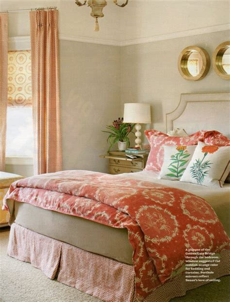 pairs coral and gray cole design