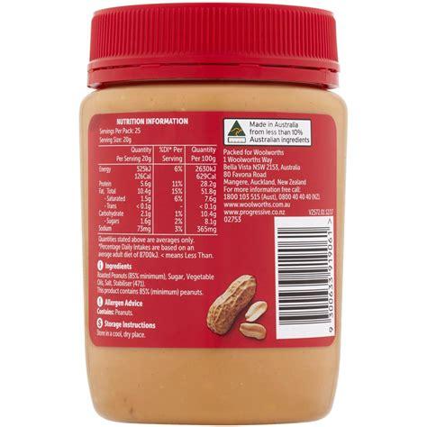 Sanitarium Peanut Butter 500g woolworths crunchy peanut butter 500g woolworths