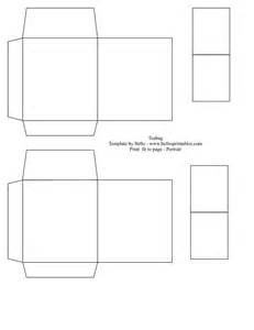 free printable templates for gift boxes teabag gift bag template just decorate it any way you
