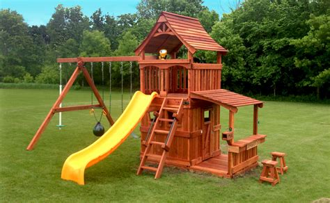 playsets for small backyards playsets categories crown of minnesota inc page 6