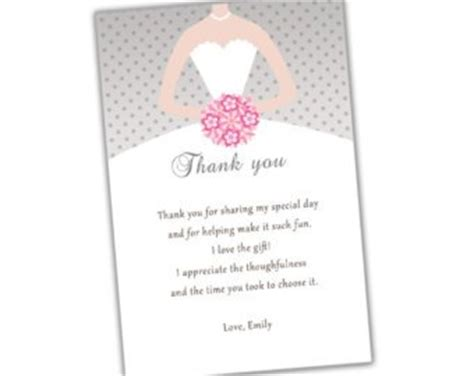 thank you letter to for bridal shower bridal shower thank you quotes quotesgram