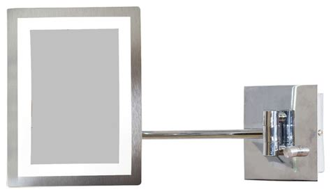 bathroom mirror mounts rectangle brass led wall mount magnifying mirror aluminum