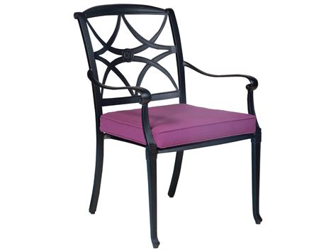 Woodard Wiltshire Aluminum Stackable Dining Chair   4Q0417
