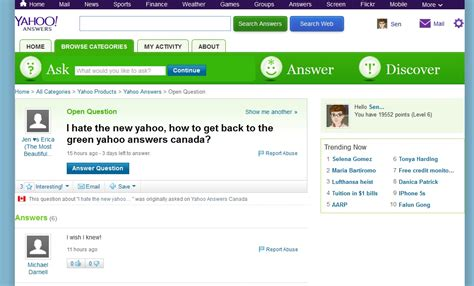 change yahoo layout back i hate the new yahoo how to get back to the green yahoo