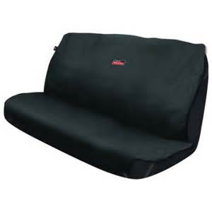Seat Covers For A Truck Bench Seat Dickies Bench Seat Cover Protector Black