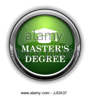 master's degree icon. master's degree website button on