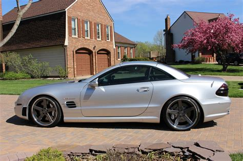 2005 Mercedes Sl65 Amg by 2005 Mercedes R230 Sl65 Amg On 20 Quot D2 Forged Wheels