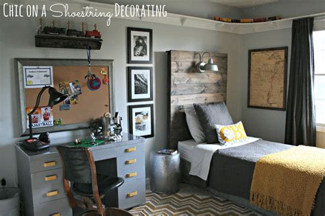 room ideas boys chic on a shoestring decorating bigger boy room reveal