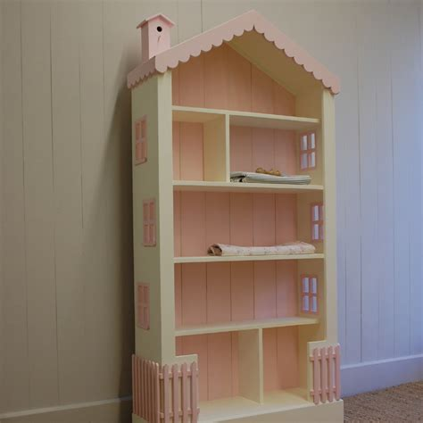 bookcase doll house tall cottage dollhouse bookcase by english farmhouse furniture