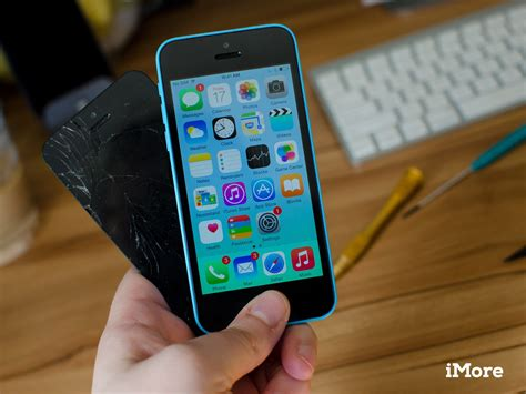 how much is it to fix an iphone 5s screen how to replace a broken iphone 5c screen in 10 minutes imore