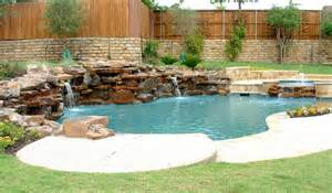 Backyard Rock Pools Rocks Swimming Pool Design Ideas Home Furniture