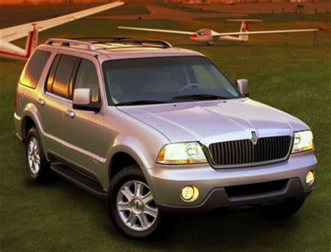 2003 lincoln aviator review