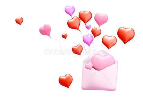 imagenes de amor 3d correio do amor 3d fotos de stock imagem 22952113