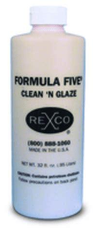 Cleaner Rexco 20 Rexco formula five clean n glaze rexco flydende poleremiddel