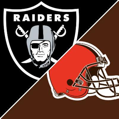 raiders vs. browns box score september 27, 2015 espn
