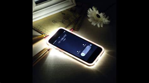 led flash iphone  case youtube