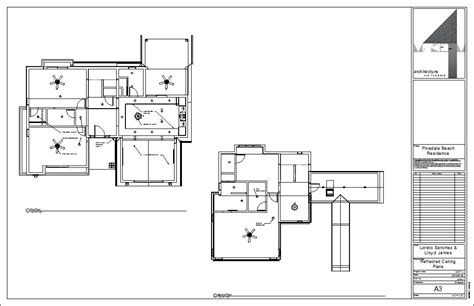 Reflected Ceiling Plan Dwg by Drawing Sheet A3 Reflected Ceiling Plans