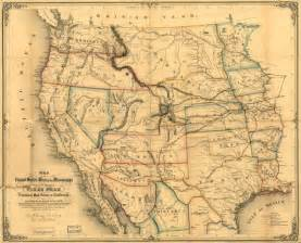 map usa historical historical map of the united states west of the