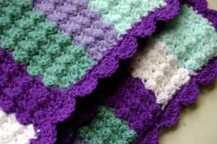 and easy crochet baby blanket lots of things