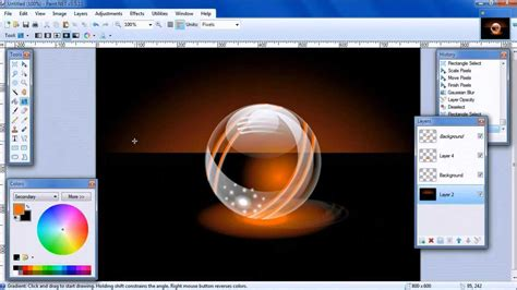 make pattern paint net helen s paint net tutorial make a glossy orb youtube