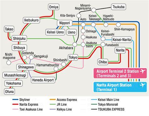 Narita Airport Floor Plan Narita Express Tokyo Airport Transfer Japan Rail Pass