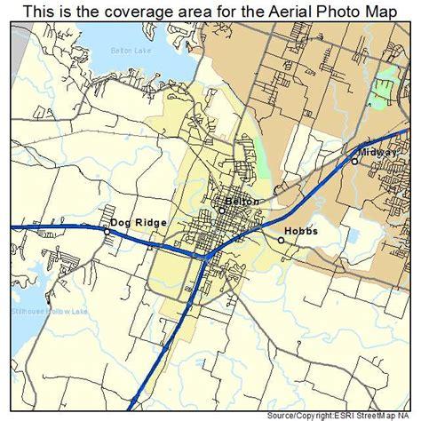 belton texas map aerial photography map of belton tx texas