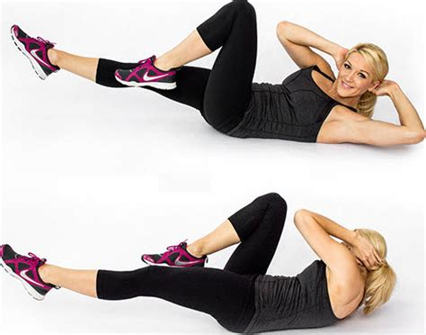 10 badass strength exercises using crunches