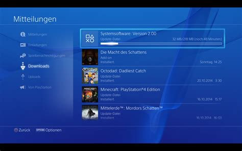ps4 themes laden playstation 4 firmware update 2 0 ab sofort verf 252 gbar