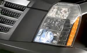 2007 Cadillac Escalade Headlight Assembly Cadillac Escalade Ext Light Bulbs And Headlight Bulbs