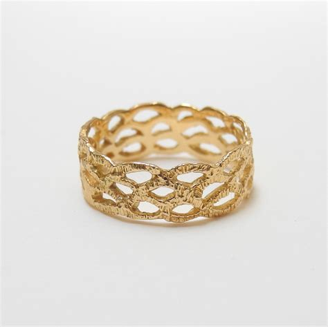 18k gold lace ring collyer s mansion