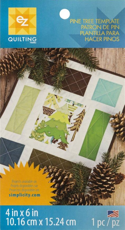ez quilting templates ez quilting template sheetpine tree