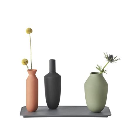 muuto vase muuto balance vase set of 3 block colour