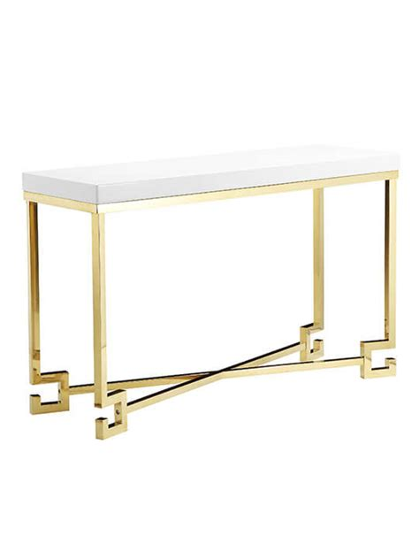 console age golden age console table modern furniture brickell