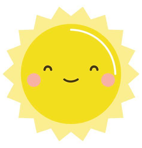 kawaii clipart june bundle giveaway 5 winners free kawaii sun clip