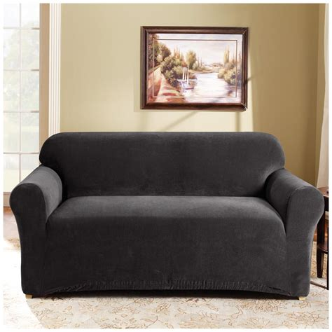 sure fit sectional cover sure fit 174 stretch pearson sofa slipcover 292823