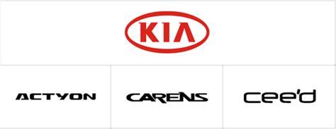 Does Kia A New Logo Some Car Logotypes Logoblink