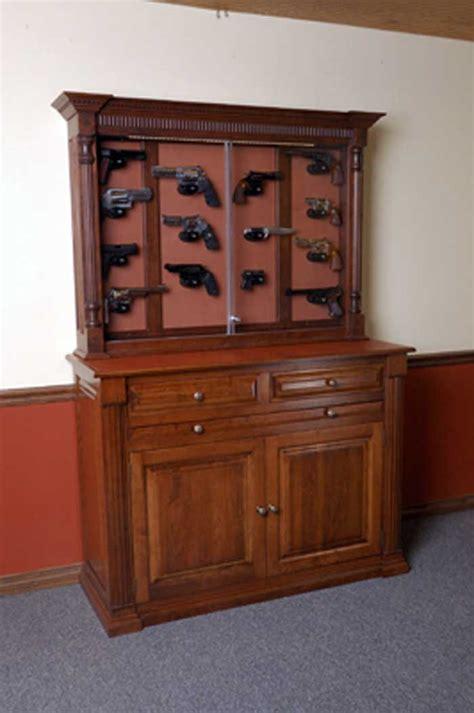 Www Cabinet by Amish Custom Pistol Displays Amish Custom Gun Cabinets