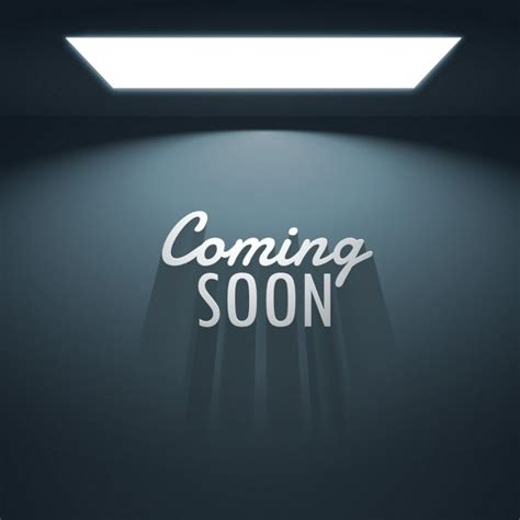 camin soon background of empty room with text of quot coming soon quot vector