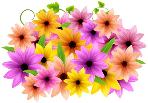 decorative art flowers pink flower clipart flower decoration pencil and in