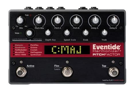 best harmonizer pedal eventide now shipping pitchfactor harmonizer stompbox