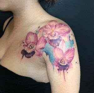 watercolor tattoos los angeles best watercolor artists prices top 50 flower owl