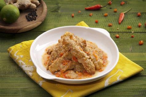 ayam goreng masak lada makanan resep masakan indonesia