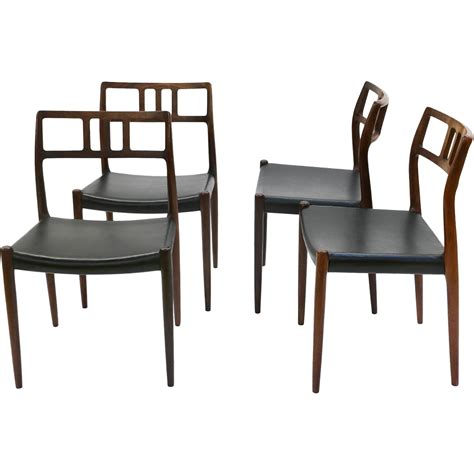 Rosewood Dining Chair Modern Rosewood Niels Moller 79 Dining Chairs From Marykaysfurniture On Ruby