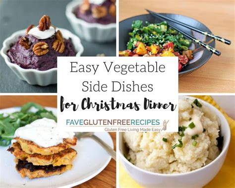 13 easy vegetable side dishes for christmas dinner