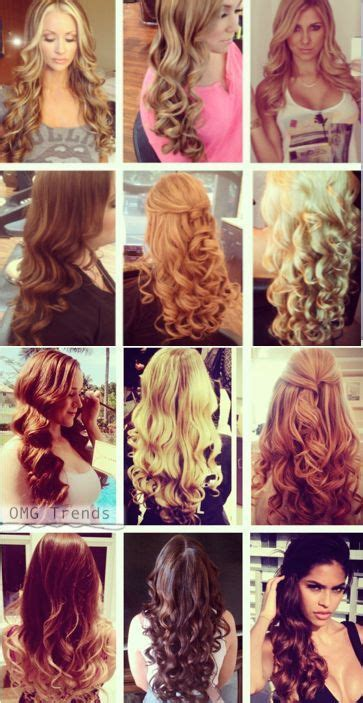 different ways to curl with wand 12 different types of curls with 1 iron girl crap cuz