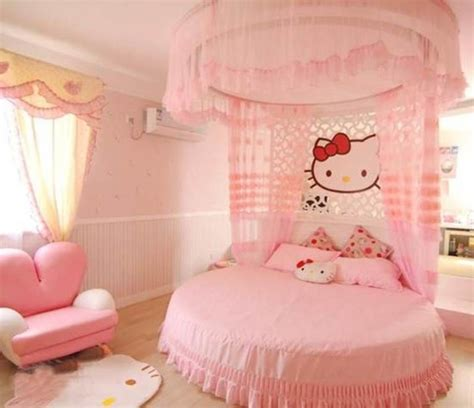 ideas for decorating a girls bedroom hello kitty little girls bedroom decorating ideas decoist