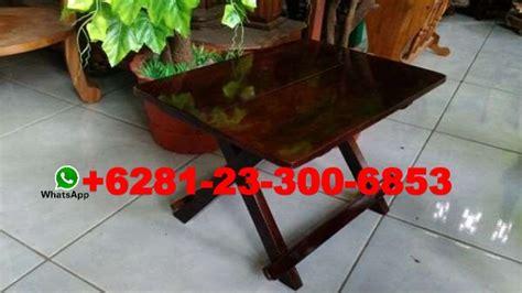 Meja Lipat Plastik Bandung jual kerajinan ukiran kayu meja lipat murah bandung meja lipat kayu