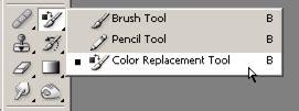 zamjena određene boje drugom bojom u photoshopu color replacement kroativ