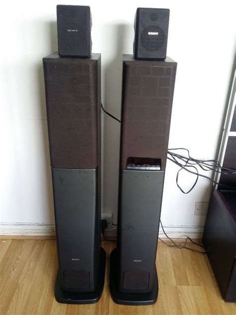 sony sa va1 home theater active surround speaker system